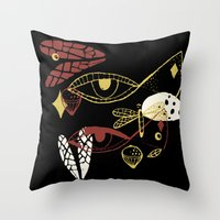 night view Throw Pillow