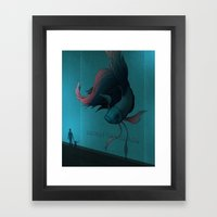 Clasp Your Hands. Respect The Irritable. Framed Art Print