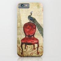 Peacock in Paris iPhone 6 Slim Case