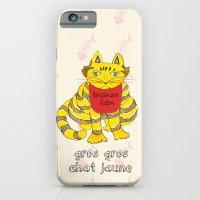 Big Fat Yellow Cat iPhone 6 Slim Case