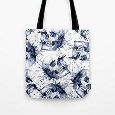 Skull Pattern Tote Bag