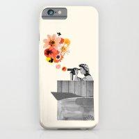 In Bloom (black & White) iPhone 6 Slim Case