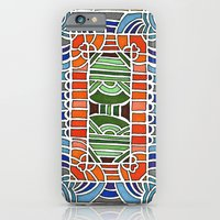 Geometric Drawing Meditation iPhone 6 Slim Case