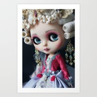 Marie Antoniette Masquer… Art Print