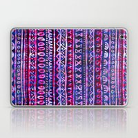 Hau'oli Stripe Purple Laptop & iPad Skin