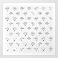 Diamonds In The Sky Art Print