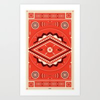 The Indian EYE Art Print