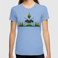 JAMROCK Womens Fitted Tee Athletic Blue SMALL