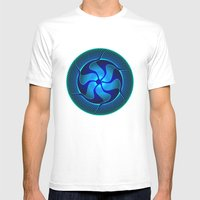Circle Study No. 371.1 Mens Fitted Tee White SMALL