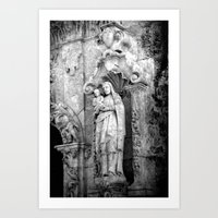 Mission San Jose Detail Art Print