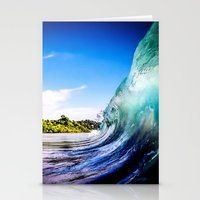 Wave Wall Stationery Cards