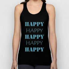 Happy, Happy Unisex Tank Top