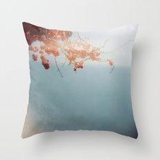 bouganvillea Throw Pillow