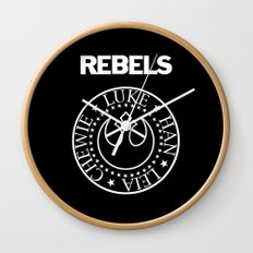 I Wanna Be a Rebel Wall Clock