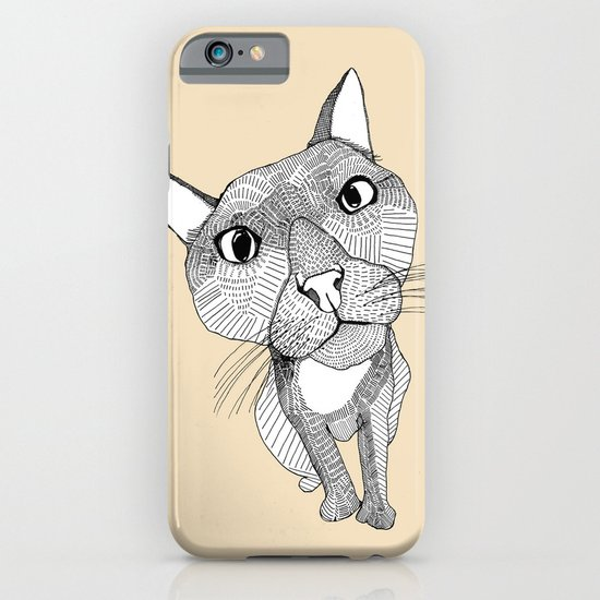 BigHead Cat iPhone & iPod Case