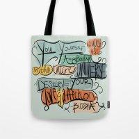 Love & Affection Tote Bag