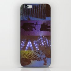 DropArt collage iPhone & iPod Skin