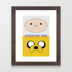 Adventure Time Framed Art Print