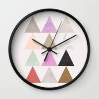 colour + pattern 25 Wall Clock