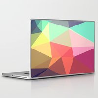 lost Laptop & iPad Skins featuring peace by contemporary