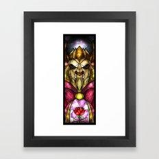 The Beast Framed Art Print