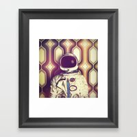 Back Down To Earth Framed Art Print