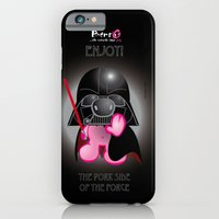 Berto: The Mental-issue pig trying Darth Vader costume iPhone 6 Slim Case
