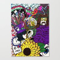 Canvas Print featuring DREAM by Nix Hunt