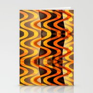 Shimmering Heat Stationery Cards