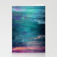 Ocean Sky Stationery Cards