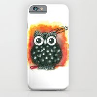 iPhone & iPod Case featuring Little Owl by Hande Unver