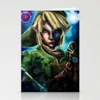 Legend Of Zelda Link The… Stationery Cards