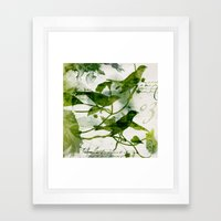 Birds (square 3) Framed Art Print