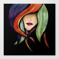 Colorful. Canvas Print