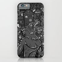iPhone & iPod Case featuring WOLVES OF PERIGORD by SINDY SINN