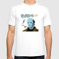 Young Frankenstein Mens Fitted Tee White SMALL