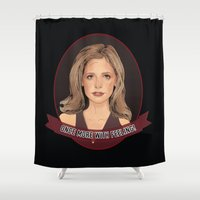 Buffy Summers - Once More with Feeling Shower Curtain