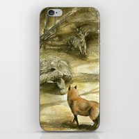 The Tortoise And The Har… iPhone & iPod Skin