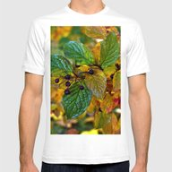 AUTUMNAL SYMPHONY Mens Fitted Tee White SMALL