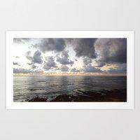Sunset Cliffs, San Diego Art Print