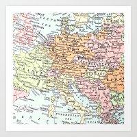 European Tour Art Print