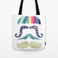 Mustache BOOM Tote Bag