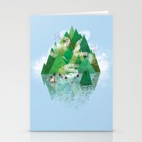 Mysterious Island Stationery Cards