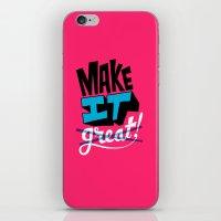 Make It iPhone & iPod Skin
