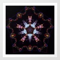 Kalightoscope Art Print