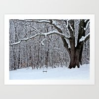 Tree Swing Art Print