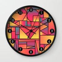 Kaku Cinco Wall Clock
