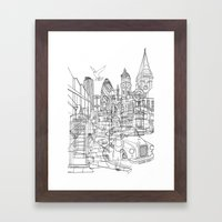London! Framed Art Print