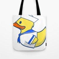Sailor Duck Tote Bag