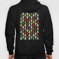 Christmas Trees, Abstrac… Hoody